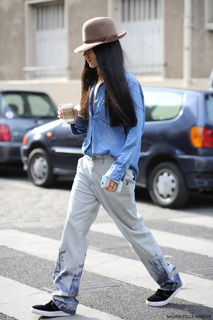 Gilda Ambrosio at Paris fashion week