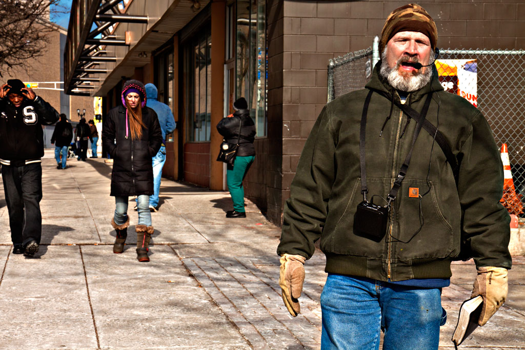 Sidewalk-preacher-on-1-9-15--Camden
