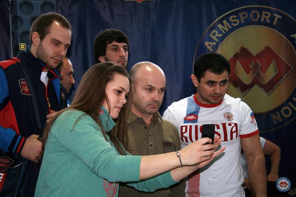 Ivan Matyushenko, Vadim Akperov - Moscow Armwrestling Championship 2014 │ Photo Source: armsport-rus.ru