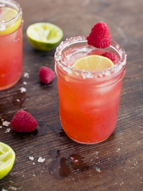 raspberry ginger margarita