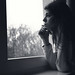 #girl #girls #bw #blackandwhite #blackwhite #black #white #portrait #window #light #lowlight #hair #face #beautiful #female #eyes #lips #iso #hope #expression #hands #sad #alone #lonely #old #vintage #look #nice #cute #fingers #love #wait #waiting #lookin by Mysterious Lens