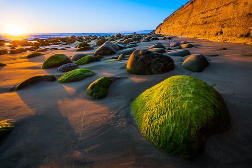 ocean ca sunset beach water wall sand rocks surf seawall ventura emmawoodstatebeach
