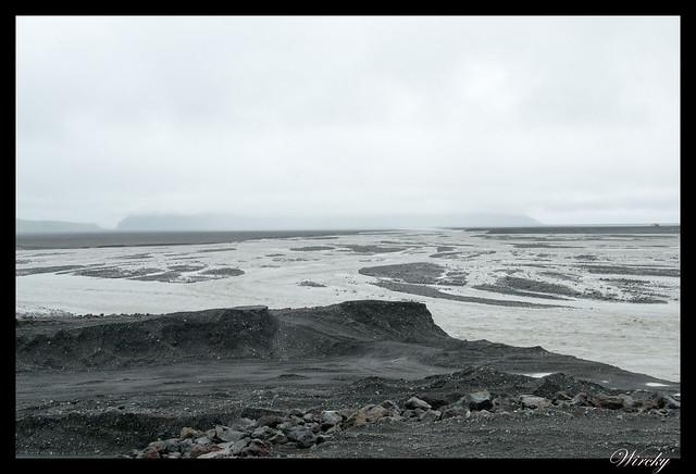 Rio de arena negra