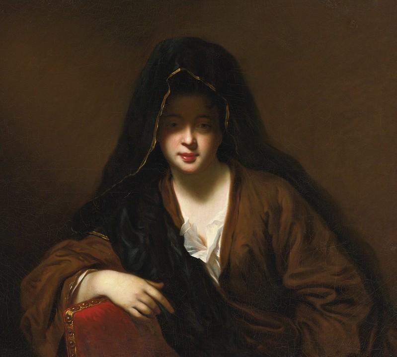 Jean-Baptiste Santerre - Veiled Woman