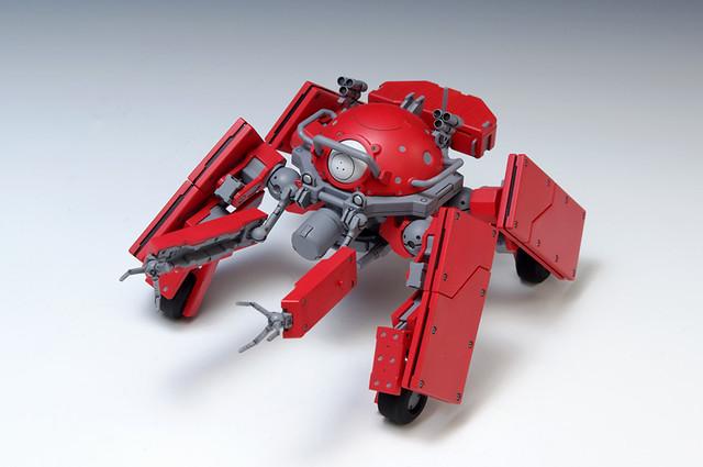 攻殻機動隊ARISE GHOST IN THE SHELL ロジコマ(兵站輸送車輛)組裝模型