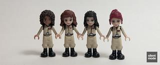 Andrea, Olivia, Emma and Mia as Ghostbusters