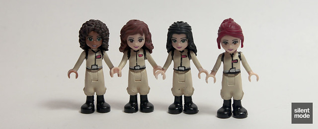 Andrea, Olivia, Emma and Mia as Ghostbusters