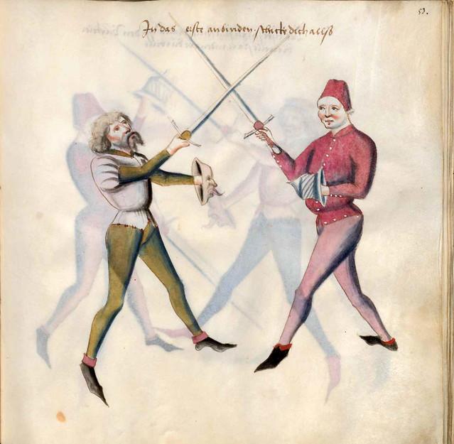009-Kal Paulus Fechtbuch gewidmet dem Pfalzgrafen Ludwig- BSB Cgm 1507- Bayerische StaatsBibliotehek
