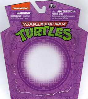 MONOGRAM INTERNATIONAL :: TEENAGE MUTANT NINJA TURTLES; COLLECTIBLE FIGURINES / DONATELLO ..card backer (( 2014 ))