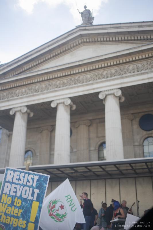 Dublin water protest gig RNU