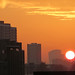 City Sunset (from QEOP) by diamond geezer