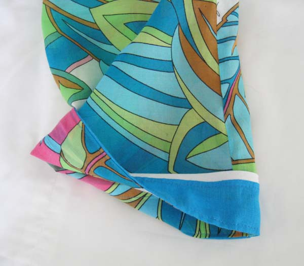 Tunic top inside sleeve
