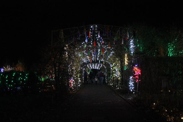 2014 Gardenfest Of Lights At Lewis Ginter Botanical Gardens Flickr Photo Sharing