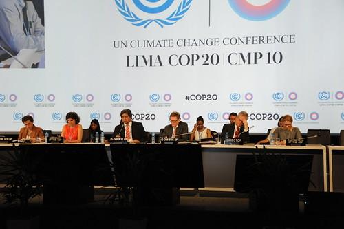 第20屆聯合國氣候大會。(來源:UNclimatechange)