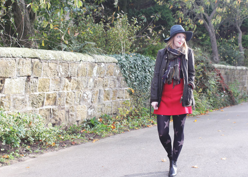How to wear a wax jacket, Bumpkin Betty