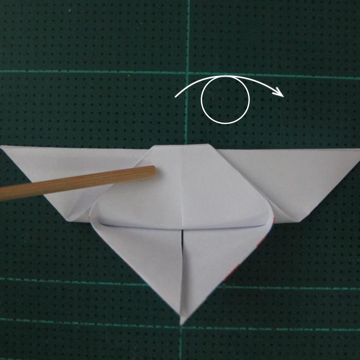 การพับกระดาษเป็นผีเสื้อแบบง่ายๆ (Easy Origami Butterfly) 009