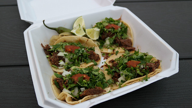 Barbacoa Tacos from Tacos Jerez Taco Truck in Des Moines, Iowa