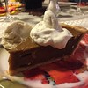 Pumpkin pie classic. Gluten-free, topped w whipped coconut cream. #nom
