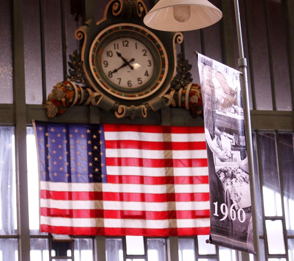 Westside Market American Flag