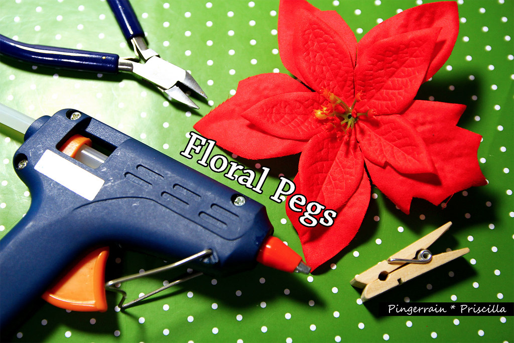 Floral Pegs