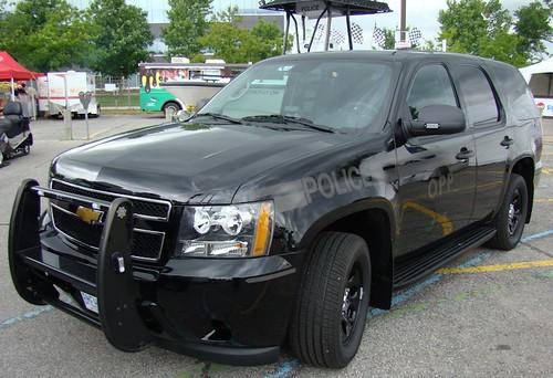 Ontario Provincial Police Chevrolet SUV