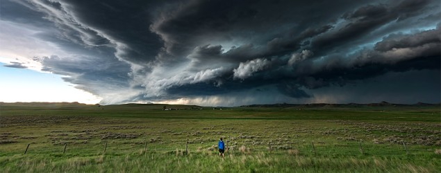 storm chasing thrill