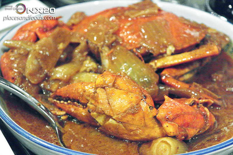 restaurante litoral curry crab