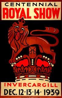 Invercargill Centennial Royal Show Poster