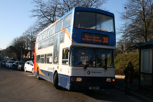 Stagecoach South 16261 (P261 WPN) on Fleet Buzz Route 30, Fleet Station