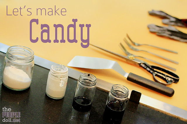 Making candy at Made in Candy SM Megamall