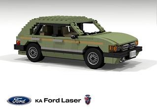 Ford Laser Ghia Hatchback (KA - 1981)