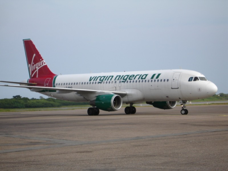 LZ-BHD, A320-200 srs, Virgin Nigeria leased from BH Air.Accra, July 2005