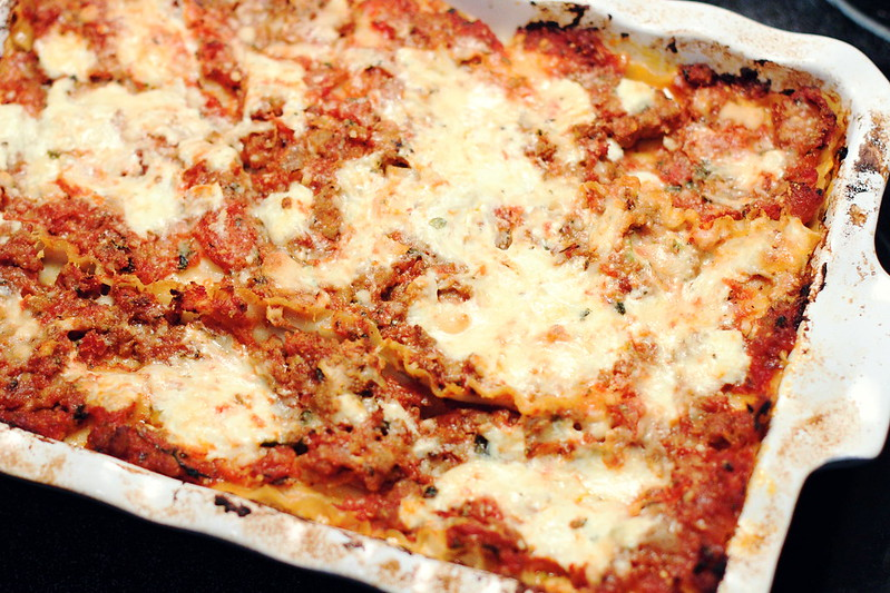 Sunday Dinner: Simply Very Good Lasagna