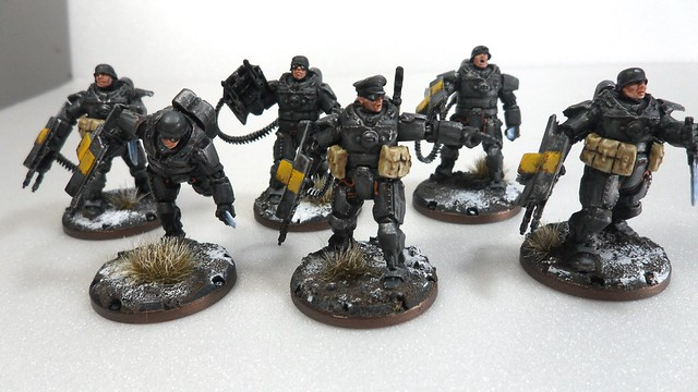 My Ever-Growing Armies: More power-armored Space nazis
