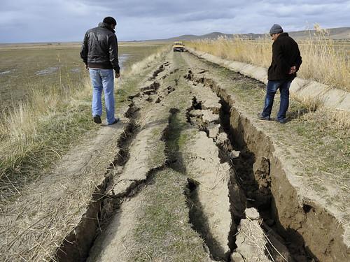 У Киргизії та Казахстані сталася серія землетрусів