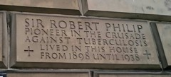 Photo of Robert William Philip stone plaque