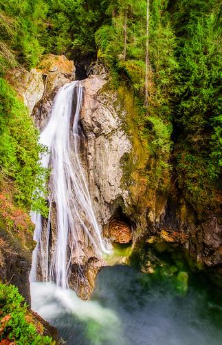 waterfall twinfalls onone snoqualmieriver twinfallsstatepark