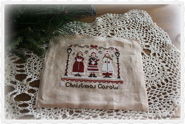 Little Stitcher_Christmas Carols from Red Christmas