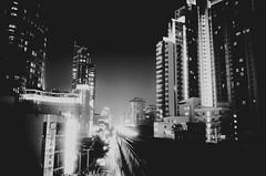 Bangkok Skytrain light stream