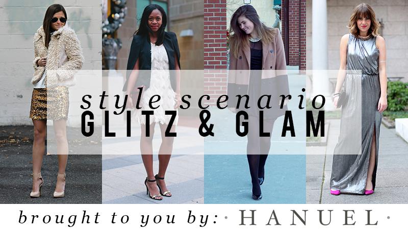 Style scenario Glitz Glam, boston fashion blogger