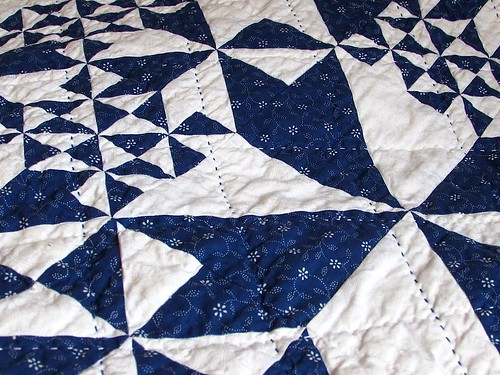 Blue Hungarian quilt detail IMG_4858