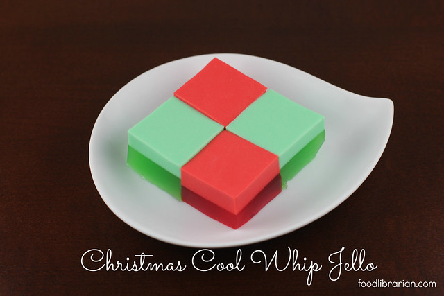 Christmas Cool Whip Jello