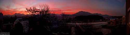 sky panorama mountains sunrise dawn schweiz switzerland view suisse crane swiss luzern himmel berge pilatus aussicht svizzera lucerne kran stitched emmen steelworks morgenrot sveitsi rigi stahlwerk voralpen morgenröte emmenbrücke swisssteel emmenbronx