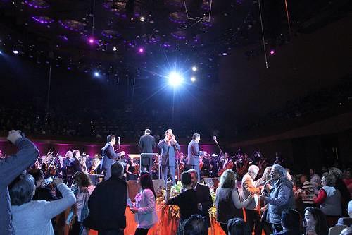 La Sonora Santanera comprobó en la Sala Neza que la música es puro goce