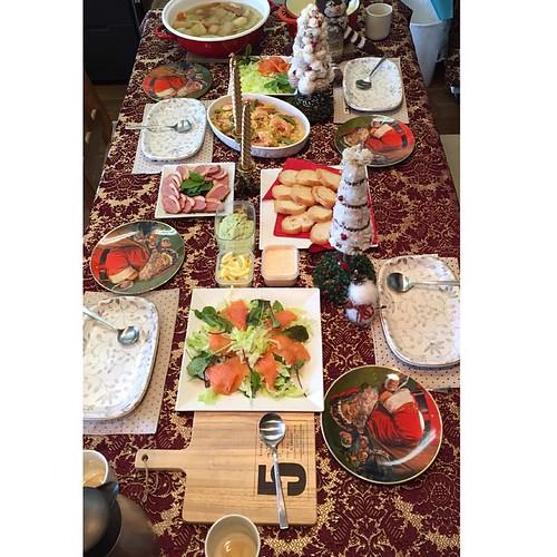 手作りタイムは一旦休憩で、食べるタイム(*^^*)