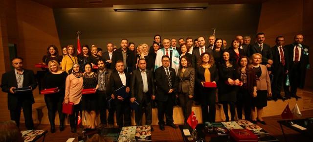 16. Yılında NPGRUP' ta cübbe ve hizmet ödülleri heyecanı yaşandı. 3