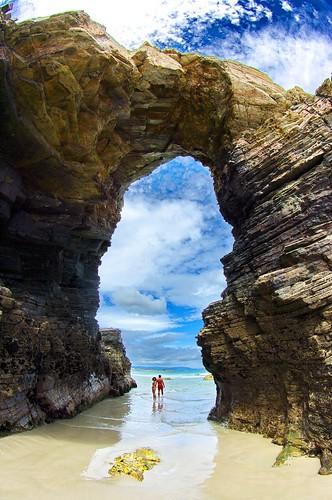 #Travel Playa De Las Catedrales, Galicia, Spain...