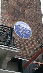 Photo of Daniel O'Connell blue plaque