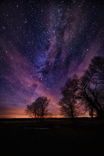 nightphotography winter clouds astrophotography northdakota nightsky prairie bismarck winternight milkyway greatplains burleighcounty nikond4 nikkor142428 reallyrightstuffbh55lr northerngreatplains gitzogt3542ls