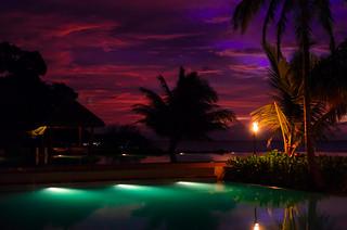 dusk of Maldives